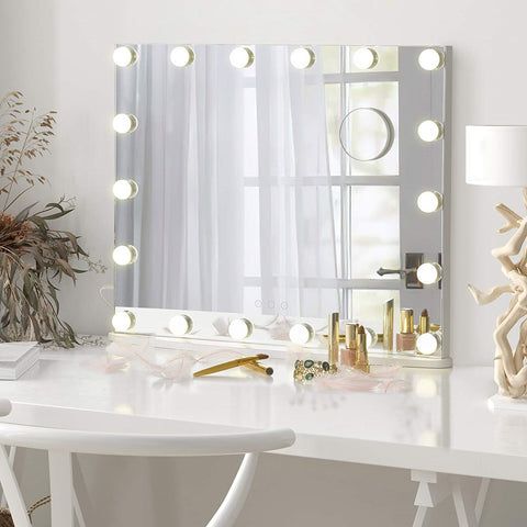 Starry 7 XL makeup mirror with light large