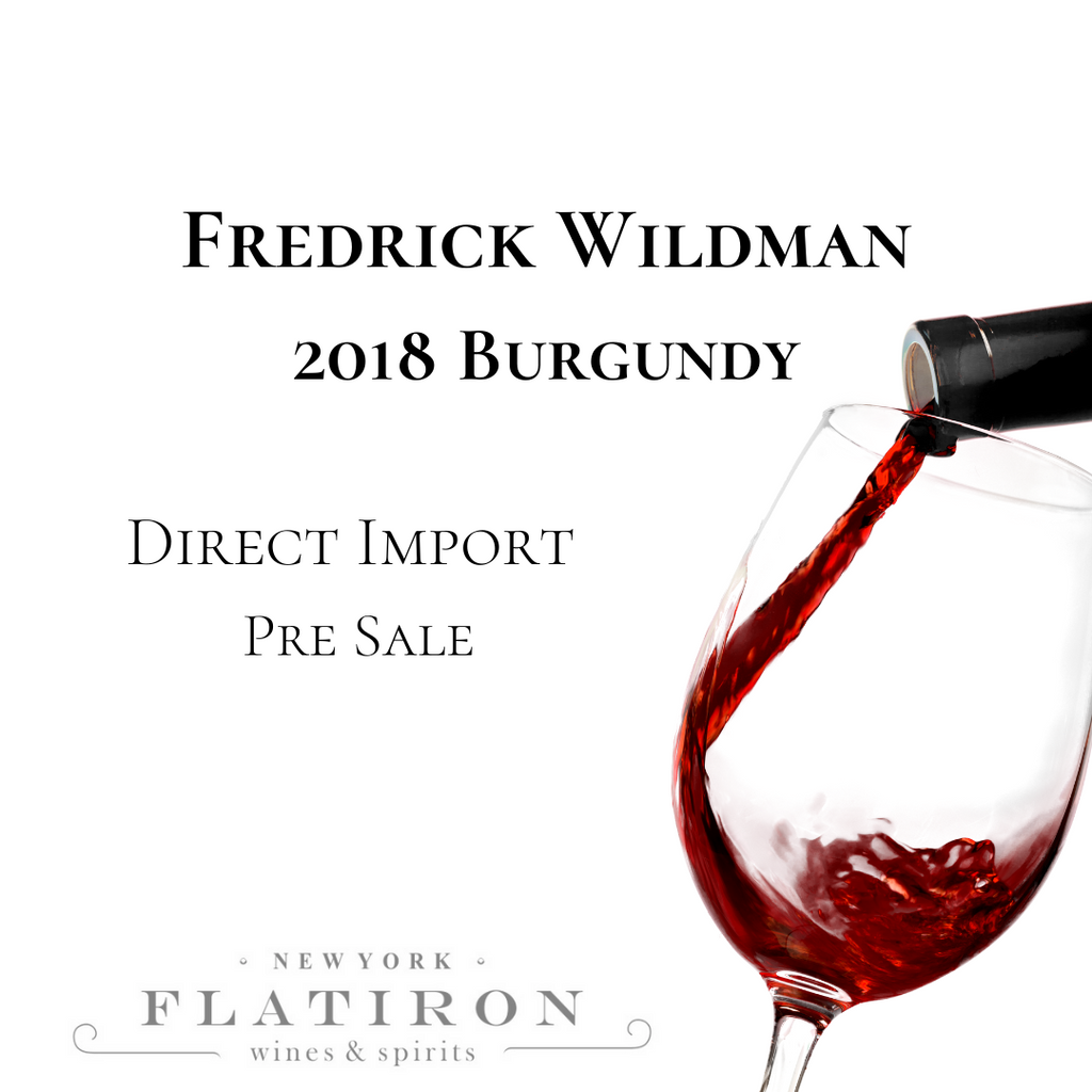 EXCLUSIVE: Fredrick Wildman 2018 Burgundy Pre-Sale