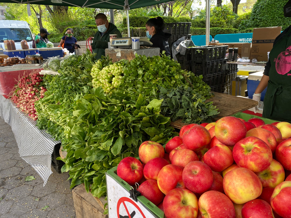Pairing Your Fresh Spring Vegetables from The Farmers' Market
