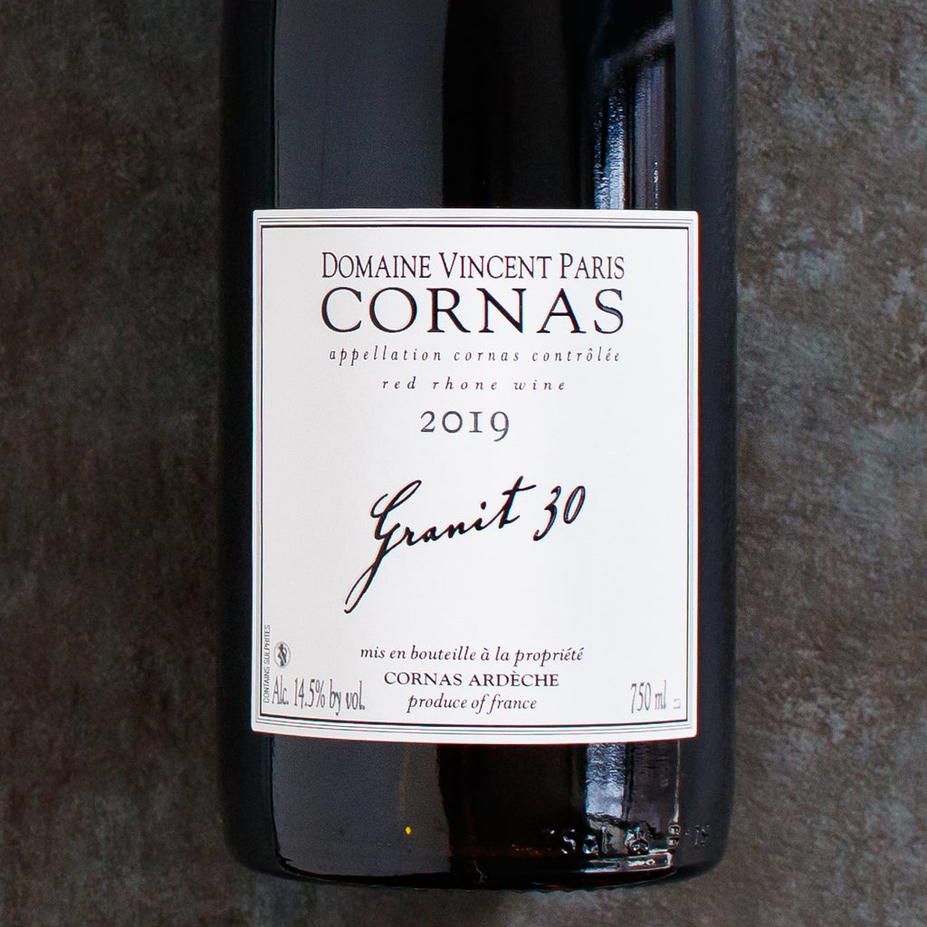 You Want this Wine: Vincent Paris's Granit 30 Cornas