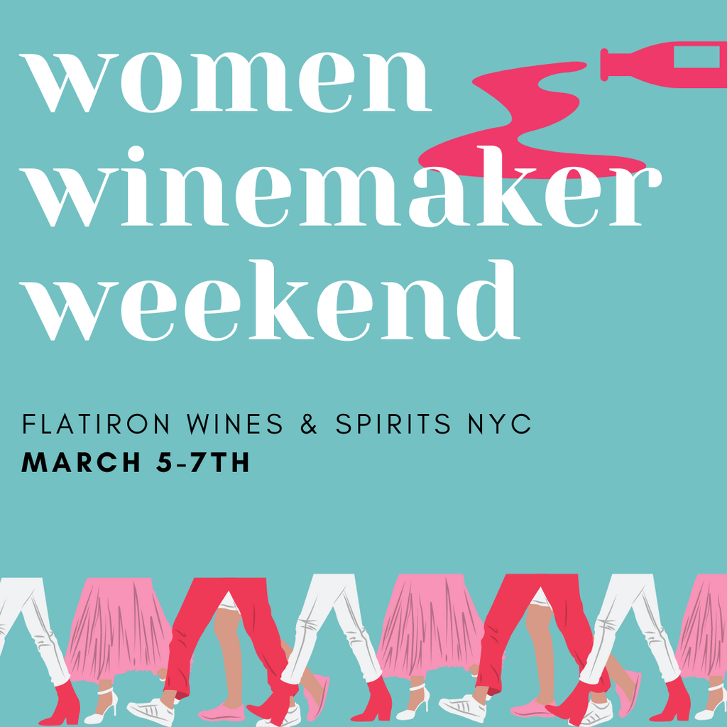 Women Winemaker Tastings: This Weekend!