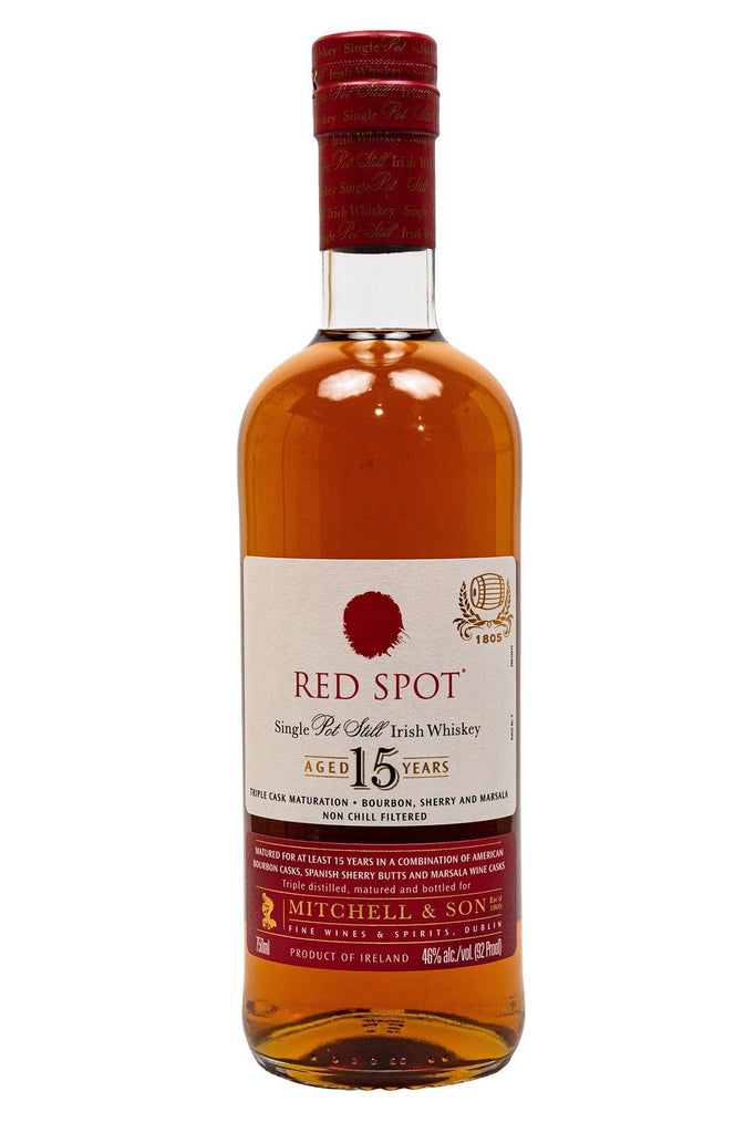 Red Spot, Irish Whiskey 15 Year
