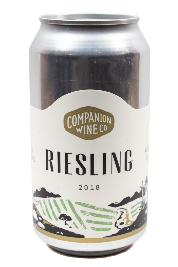 Companion Wine Co., Arroyo Seco Dry Riesling can, 2018 (375ml)