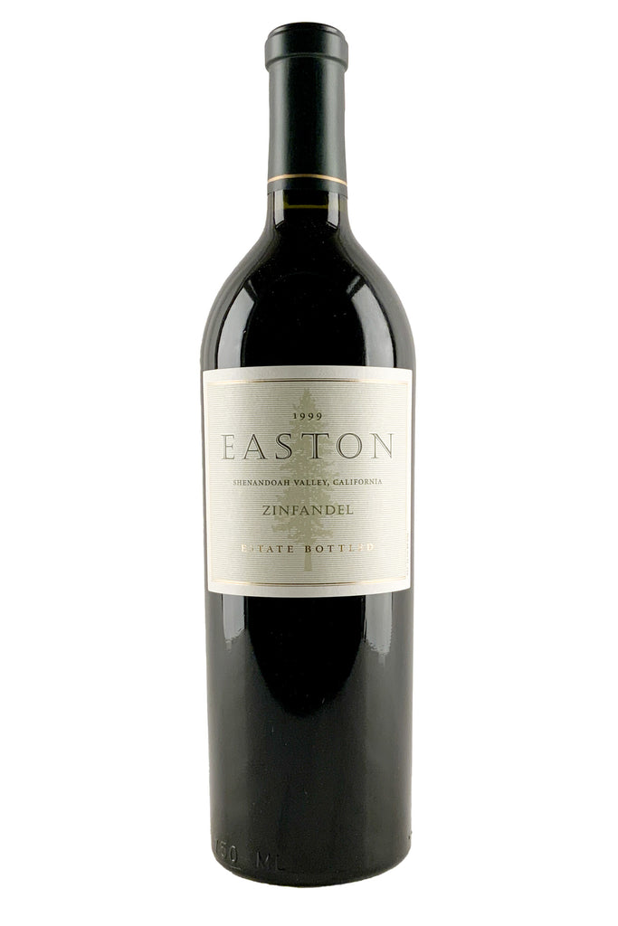 Easton Wines, Zinfandel Estate Bottled Shenandoah Valley, 1999