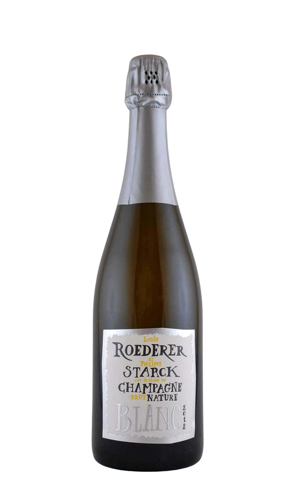 Louis Roederer, Champagne Brut Nature (Phillippe Starck Label), 2012