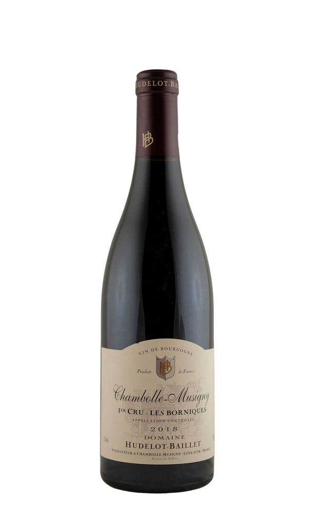 Hudelot-Baillet, Chambolle Musigny 1er Cru Les Borniques, 2018