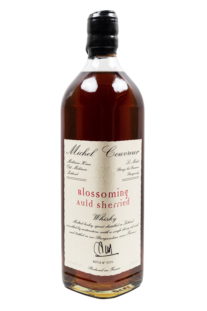 Michel Couvreur, Blossoming Auld Sherried Single Malt Whisky, NV