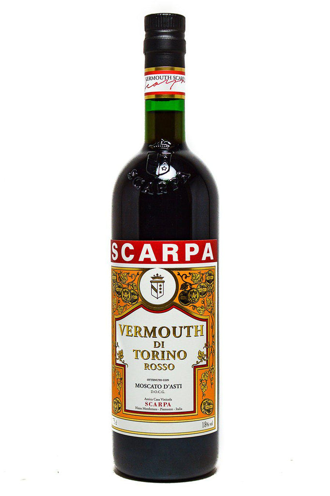 Bottle of Scarpa, Vermouth Rosso, NV - Flatiron Wines & Spirits - New York