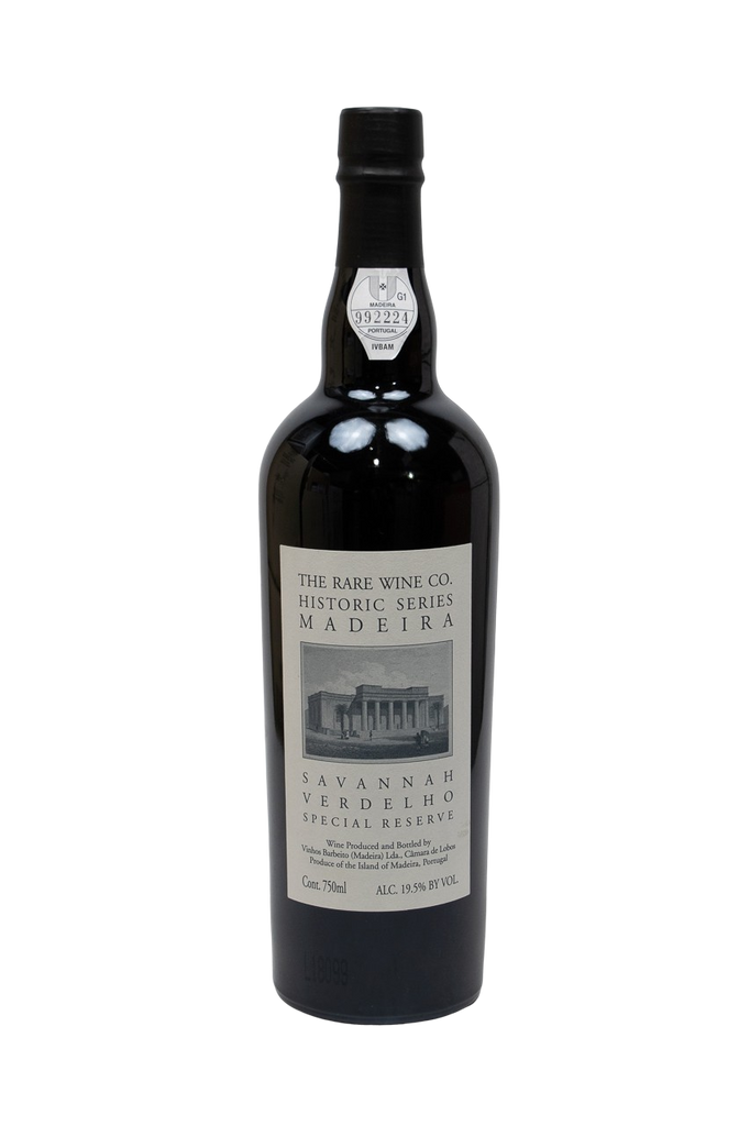 Rare Wine Co, Historic Series Madeira Savannah Verdelho Special Reserve, NV