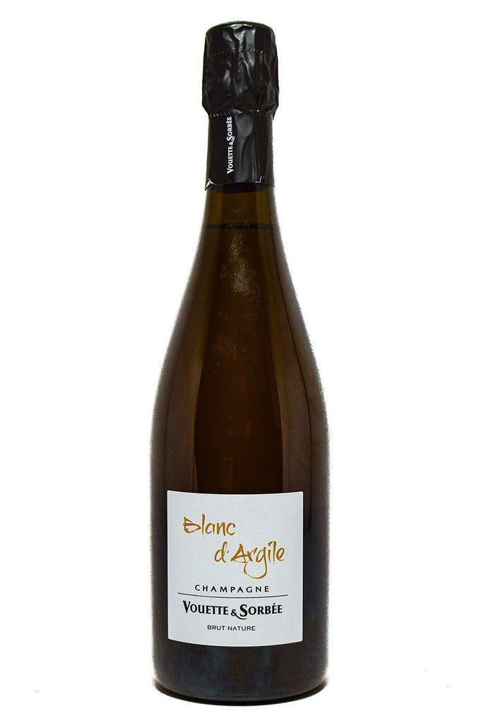 "Bottle of Vouette et Sorbee, Champagne Brut Nature Blanc d'Argile"", NV [2015] - Flatiron Wines & Spirits - New York"