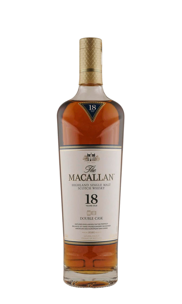 Macallan, Single Malt Scotch 18 Year Double Cask