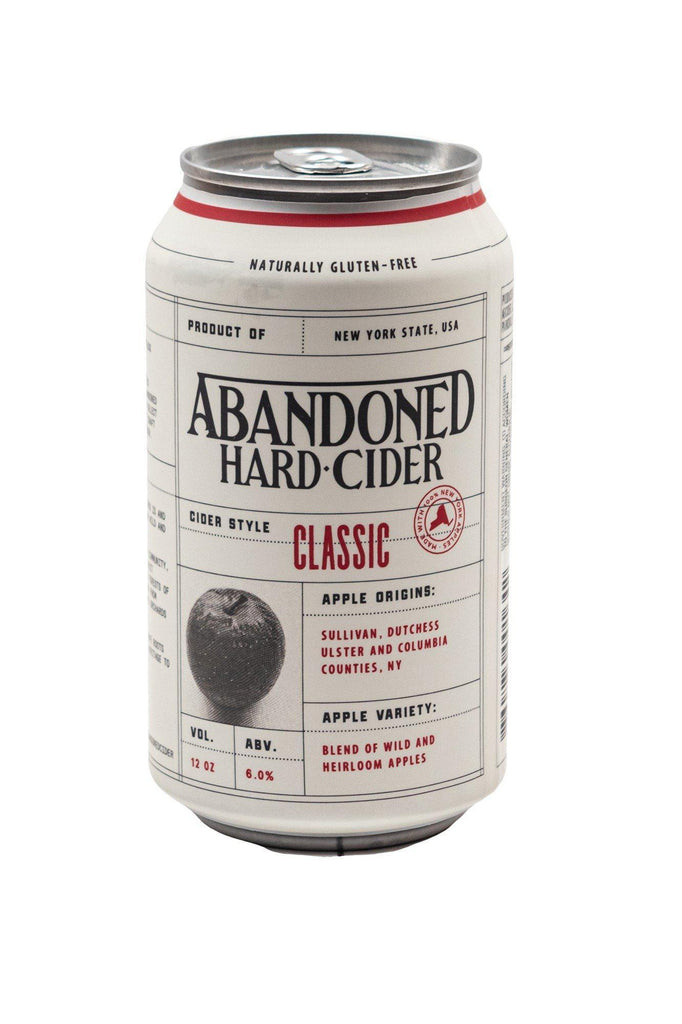 Bottle of Abandoned Hard Cider, Classic (12oz) - Flatiron Wines & Spirits - New York