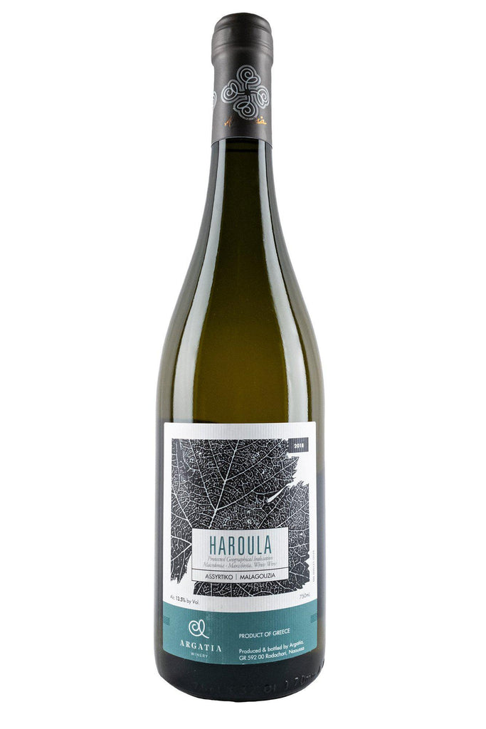 Bottle of Argatia, Haroula White, 2018 - Flatiron Wines & Spirits - New York