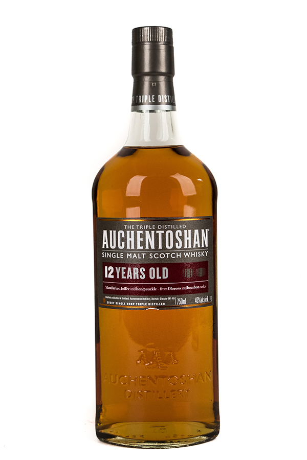 Bottle of Auchentoshan, Single Malt Scotch, 12 Year-Flatiron Wines & Spirits - New York