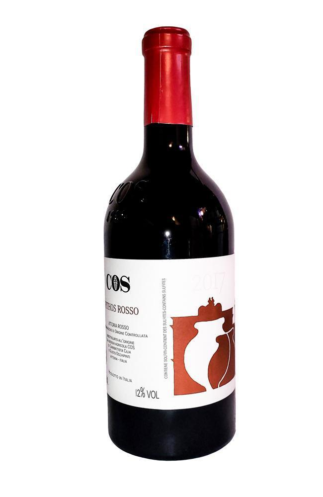 Bottle of Azienda Agricola COS, Pithos Vittoria Rosso, 2018 - Flatiron Wines & Spirits - New York