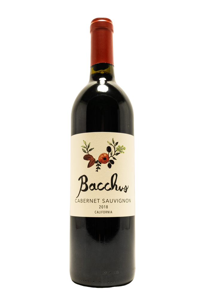 Bottle of Bacchus Cellars, Cabernet Sauvignon, 2018 - Flatiron Wines & Spirits - New York