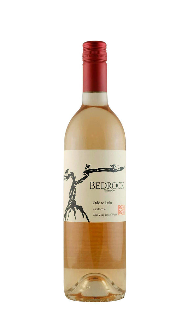 Bottle of Bedrock Wine Company, Rose of Mourvedre Ode to Lulu Sonoma Valley, 2020 - Flatiron Wines & Spirits - New York