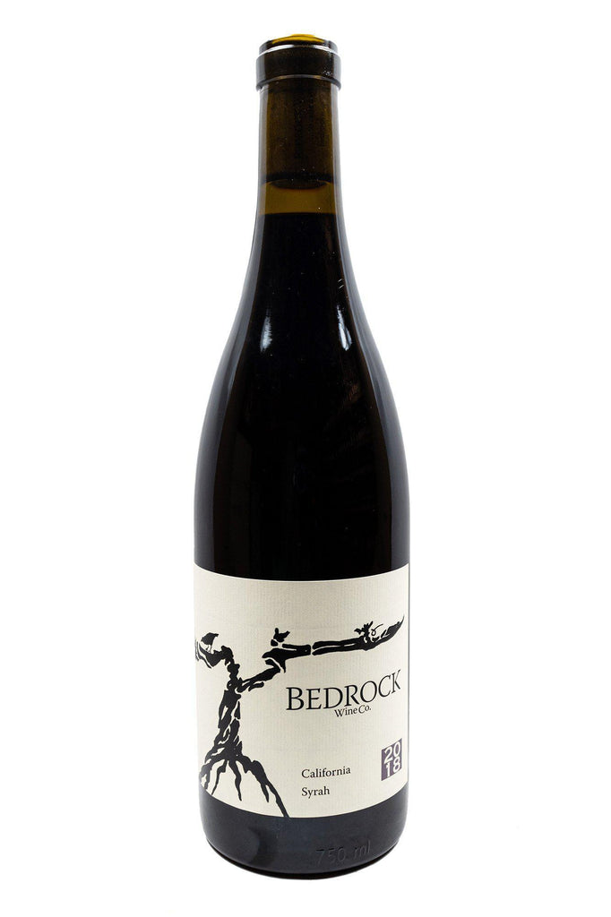 Bottle of Bedrock Wine Company, Syrah California, 2018 - Flatiron Wines & Spirits - New York