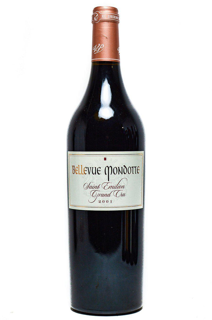 Bottle of Bellevue Mondotte, Saint-Emilion, 2001 - Flatiron Wines & Spirits - New York