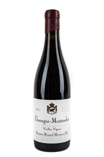 Bottle of Bernard Moreau, Chassagne Montrachet Rouge V.V., 2017 - Flatiron Wines & Spirits - New York