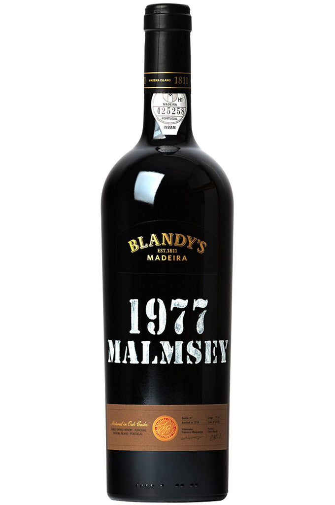 Bottle of Blandy's, Malmsey Madeira, 1977 (375ml) - Flatiron Wines & Spirits - New York