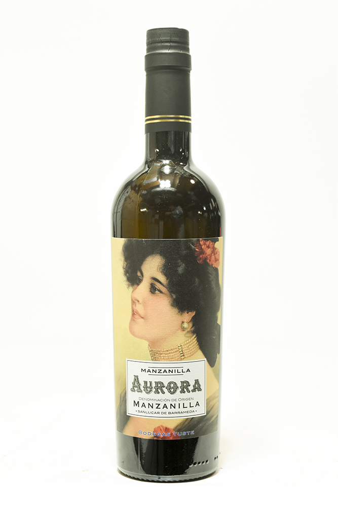 Bottle of Bodegas Yuste, Manzanilla Sherry Aurora, NV (500mL) - Flatiron Wines & Spirits - New York
