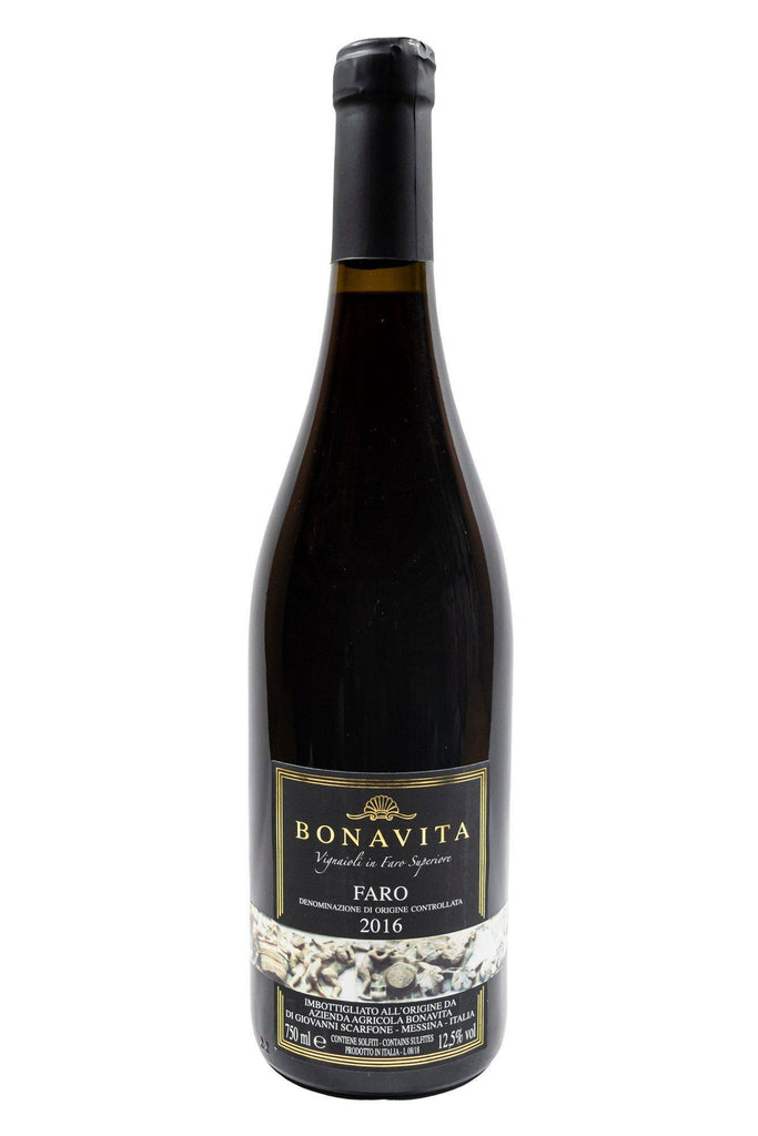Bottle of Bonavita, Faro, 2016 - Flatiron Wines & Spirits - New York
