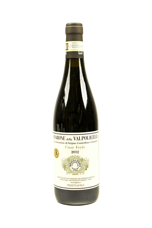 "Bottle of Brigaldara, Amarone della Valpolicella ""Case Vecie"", 2012 - Flatiron Wines & Spirits - New York"