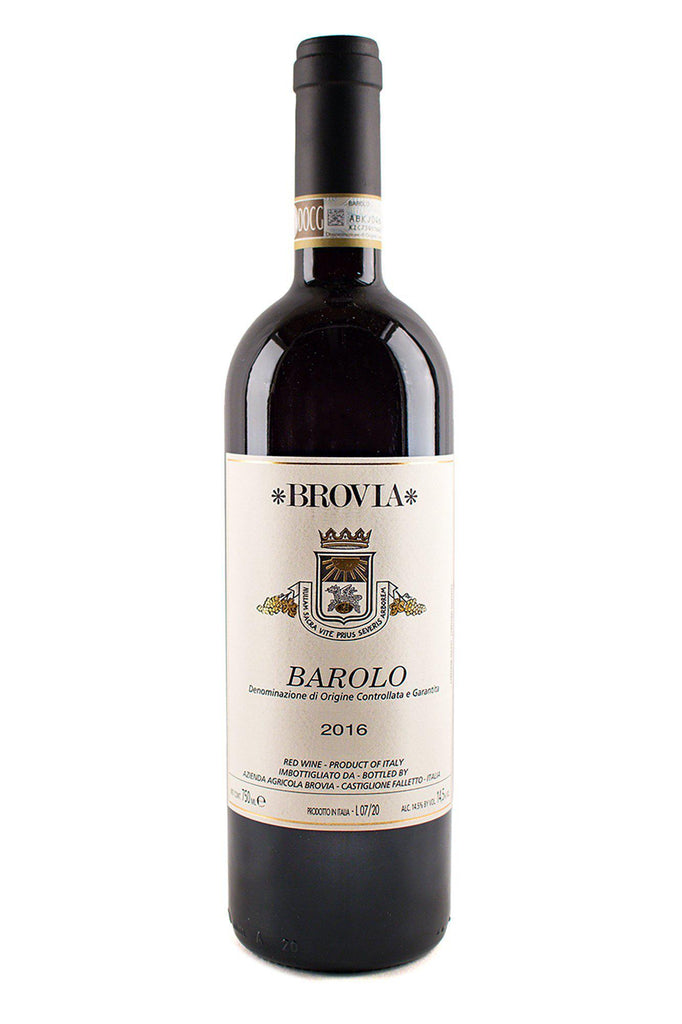 Bottle of Brovia, Barolo, 2016 - Flatiron Wines & Spirits - New York