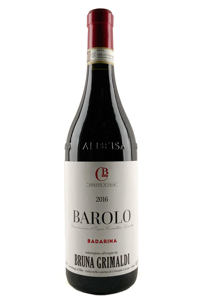 Bottle of Bruna Grimaldi, Barolo Badarina, 2016 - Flatiron Wines & Spirits - New York