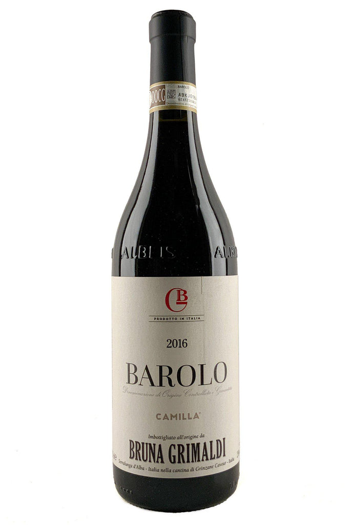 Bottle of Bruna Grimaldi, Barolo Camilla, 2016 - Flatiron Wines & Spirits - New York