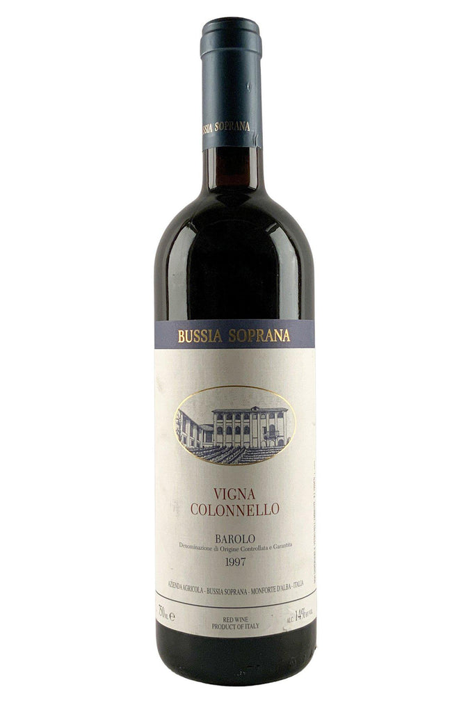 Bottle of Bussia Soprana, Barolo Colonnello, 1997 - Flatiron Wines & Spirits - New York