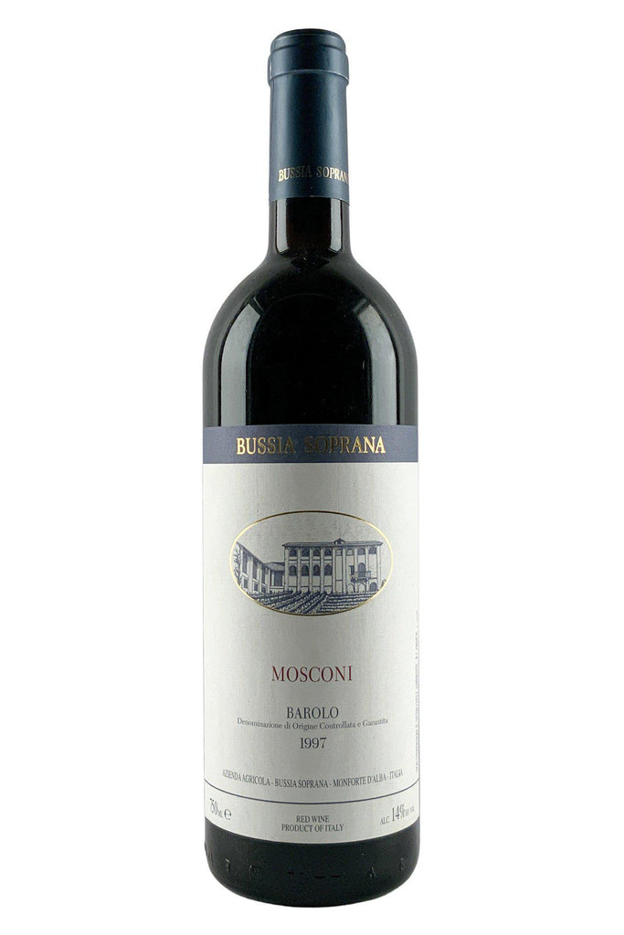 Bottle of Bussia Soprana, Barolo Vigna Mosconi, 1997 - Flatiron Wines & Spirits - New York