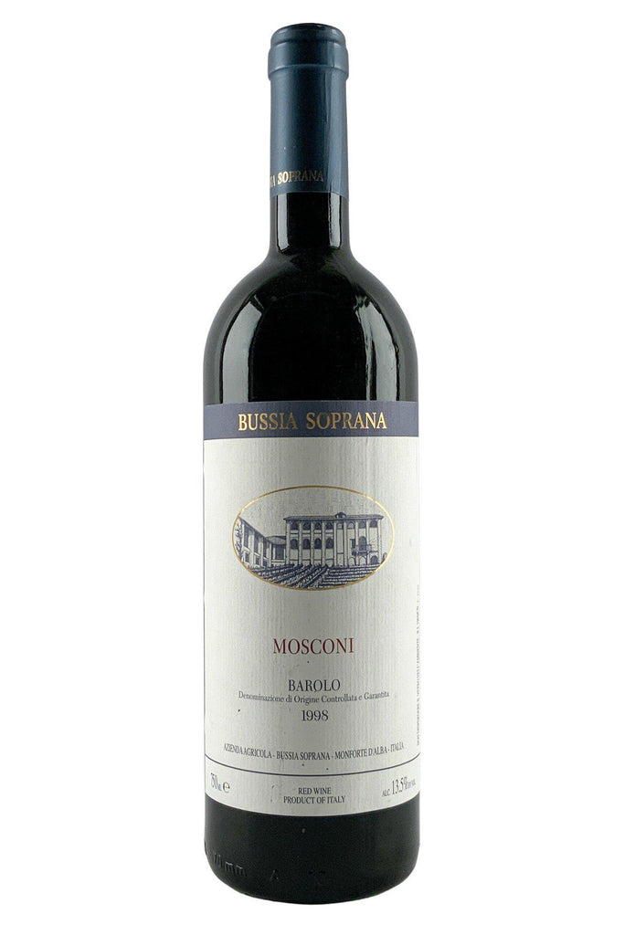 Bottle of Bussia Soprana, Barolo Vigna Mosconi, 1998 - Flatiron Wines & Spirits - New York