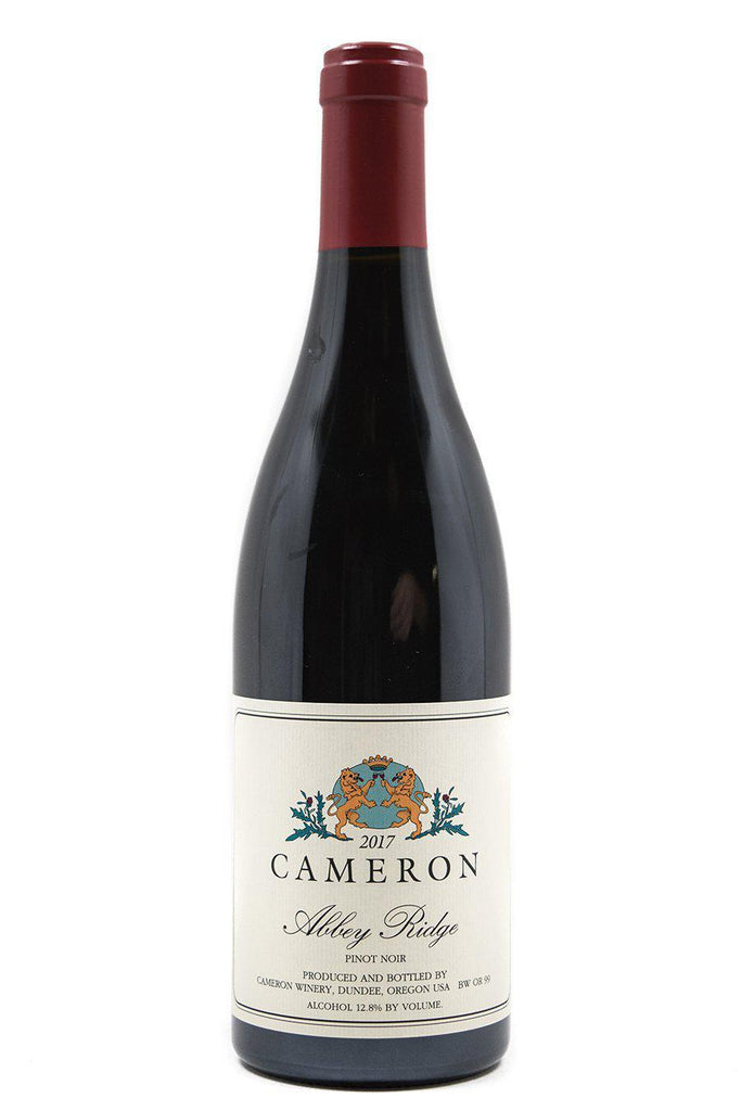 Bottle of Cameron, Abbey Ridge Pinot Noir, 2017 - Flatiron Wines & Spirits - New York