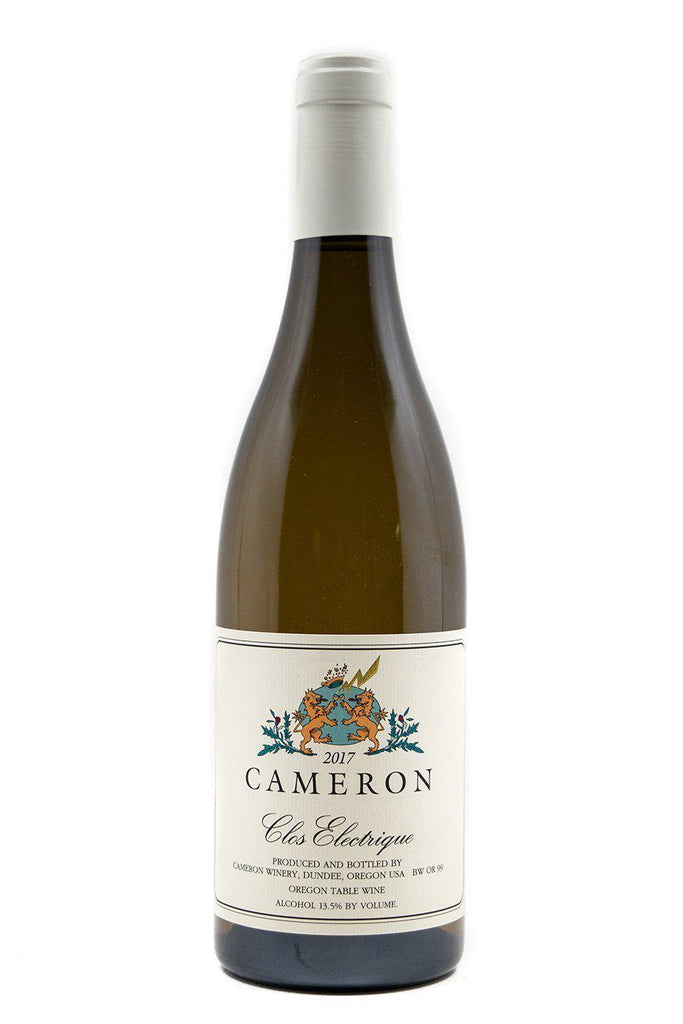 Bottle of Cameron, Clos Electrique Blanc, 2017 - Flatiron Wines & Spirits - New York