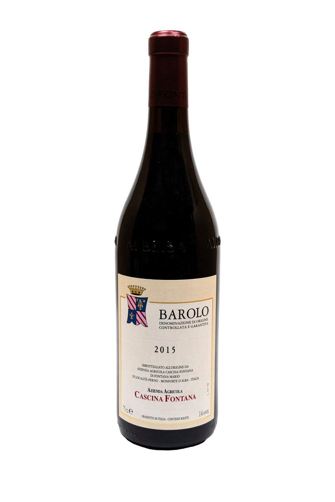 Bottle of Cascina Fontana, Barolo, 2015 - Flatiron Wines & Spirits - New York