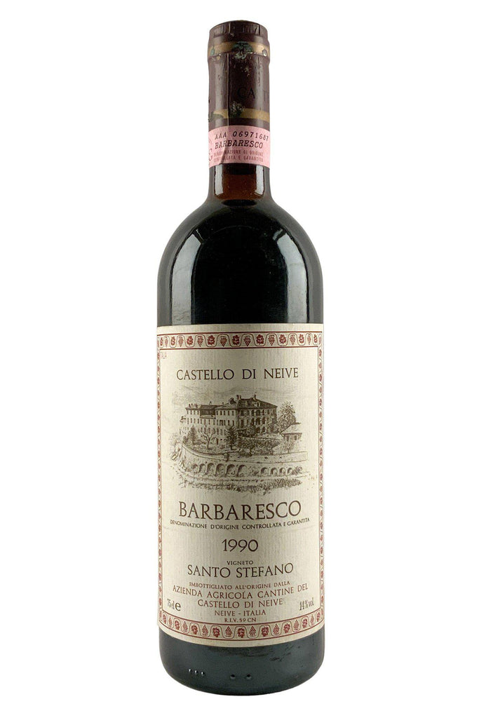 Bottle of Castello Di Neive, Barbaresco Messoirano, 1990 - Flatiron Wines & Spirits - New York