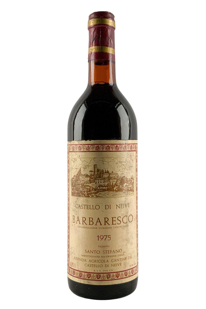 Bottle of Castello Di Neive, Barbaresco Santo Stefano, 1975 - Flatiron Wines & Spirits - New York