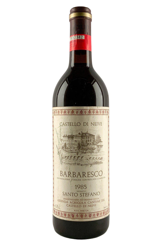Bottle of Castello Di Neive, Barbaresco Santo Stefano, 1985 - Flatiron Wines & Spirits - New York