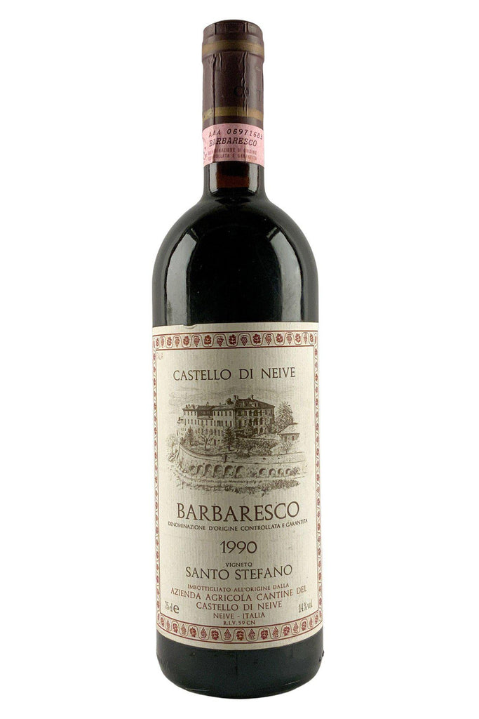 Bottle of Castello Di Neive, Barbaresco Santo Stefano, 1990 - Flatiron Wines & Spirits - New York