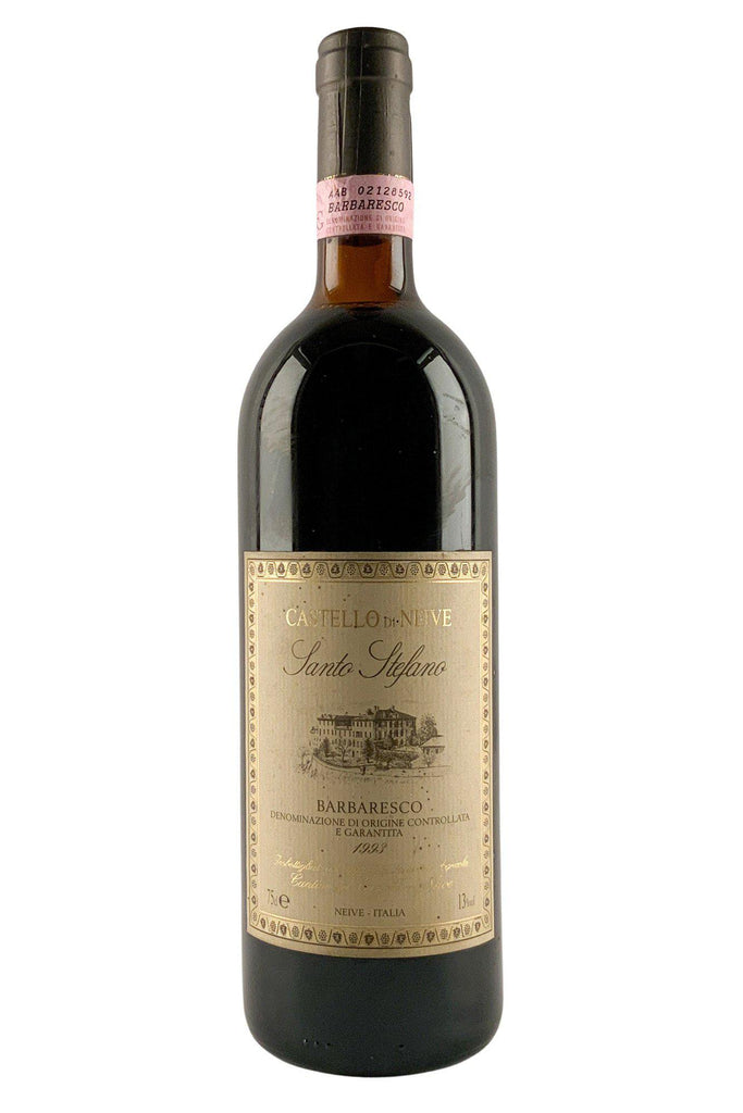 Bottle of Castello Di Neive, Barbaresco Santo Stefano, 1993 - Flatiron Wines & Spirits - New York
