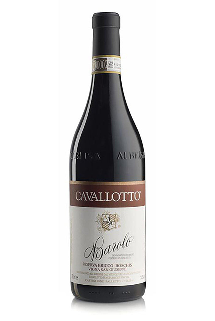 "Bottle of Cavallotto, Barolo Riserva ""San Giuseppe"", 2013 - Flatiron Wines & Spirits - New York"