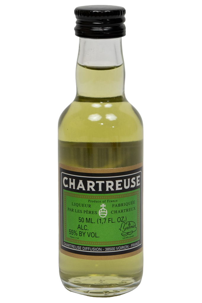 Bottle of Chartreuse, Green (50ml) - Flatiron Wines & Spirits - New York