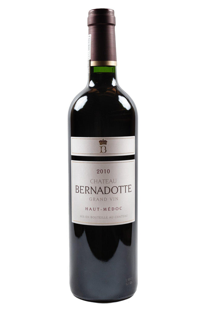 Bottle of Chateau Bernadotte, Haut Medoc, 2010 - Flatiron Wines & Spirits - New York