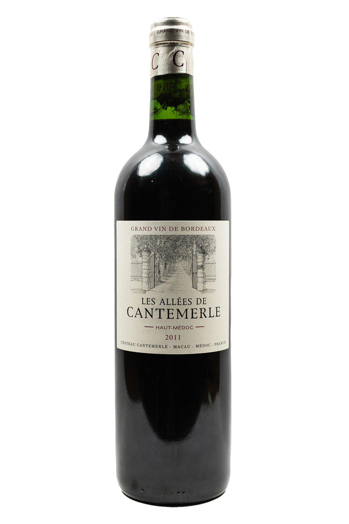 Bottle of Chateau Cantemerle, Les Allees de Cantemerle Haut-Medoc, 2011 - Flatiron Wines & Spirits - New York