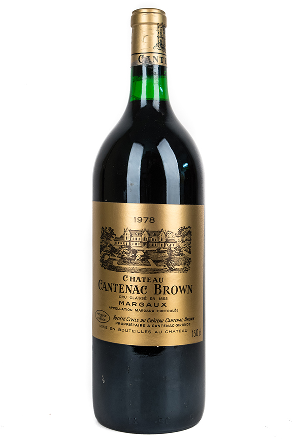Bottle of Chateau Cantenac Brown, Margaux, 1978 (1.5L) - Flatiron Wines & Spirits - New York