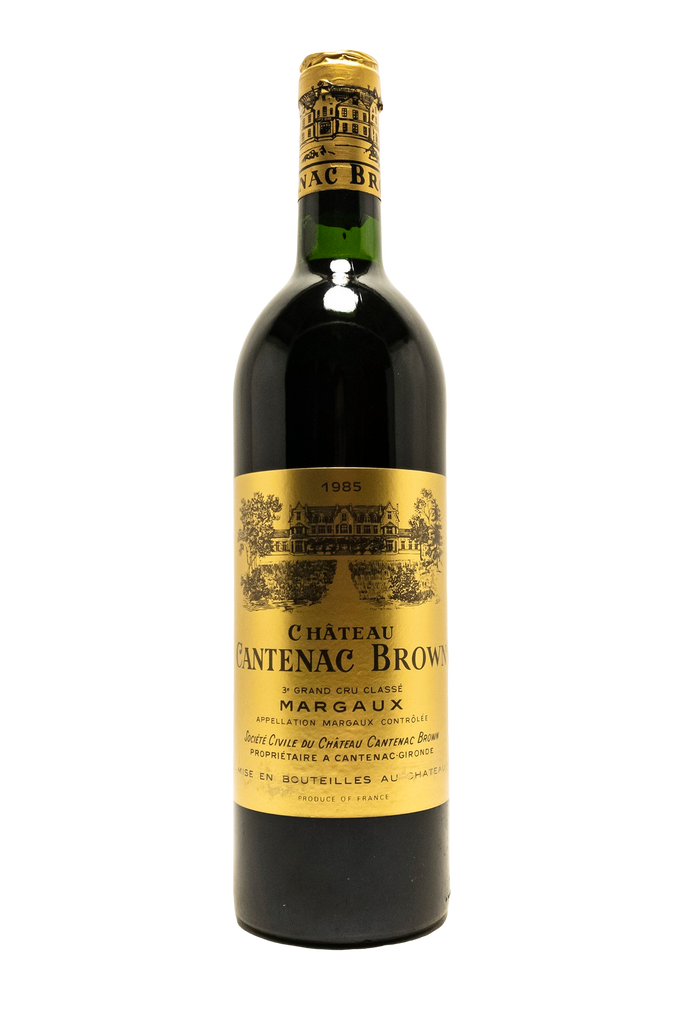 Bottle of Chateau Cantenac Brown, Margaux, 1985 - Flatiron Wines & Spirits - New York