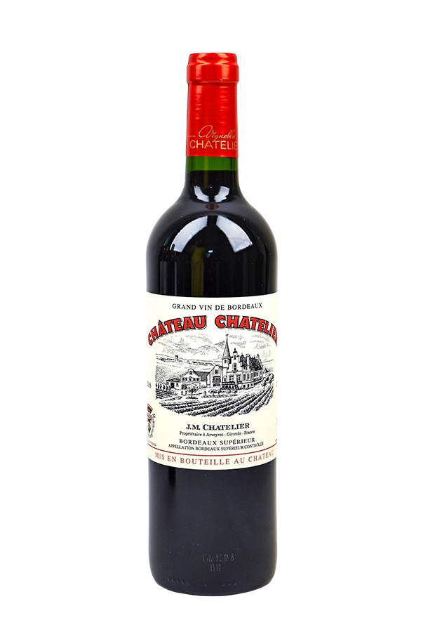 Bottle of Chateau Chatelier, Bordeaux Superieur Rouge, 2016 - Flatiron Wines & Spirits - New York