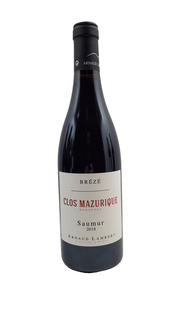 Bottle of Chateau de Breze (Arnaud Lambert), Saumur-Champigny Rouge Mazuriques, 2018 - Flatiron Wines & Spirits - New York